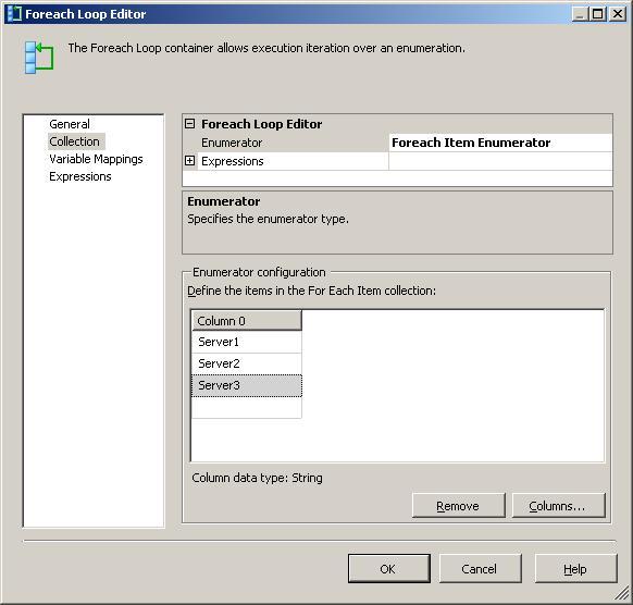 Looping through multiple servers in SSIS   SQL Studies