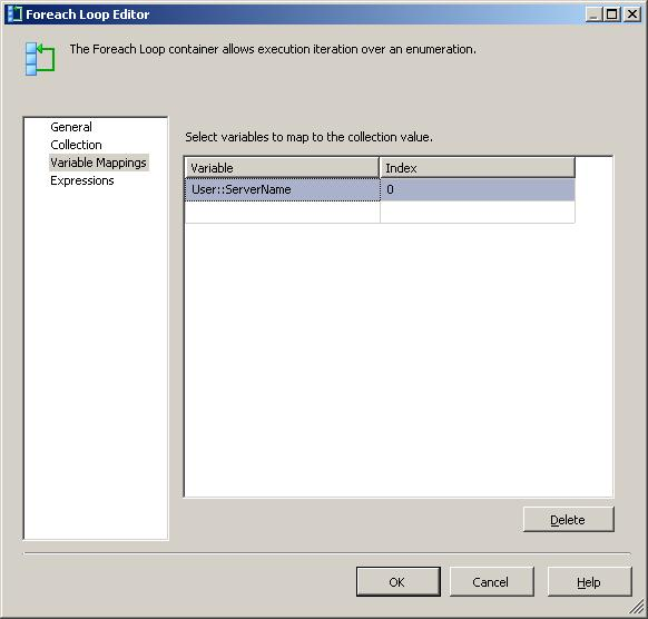 Looping through multiple servers in SSIS | SQL Studies