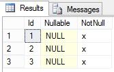 Adding a column with a default