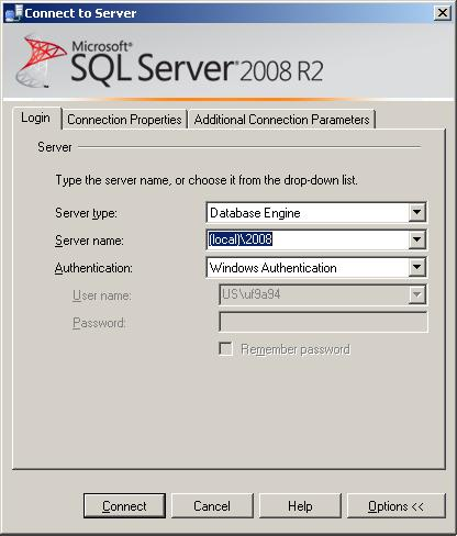 Connection options in SSMS | SQL Studies