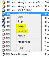 Setting a fixed amount of memory for SQL Server