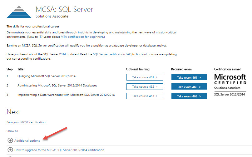 Get Your Sql Server Mcsa Without Taking The Bi Exam Sql Studies
