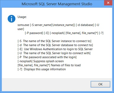 Changing what SSMS opens on startup | SQL Studies