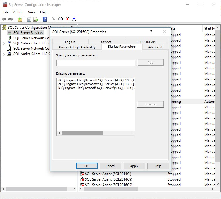Error Log: How Do I Look At My Error Log If SQL Won't Open?